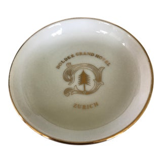 Vintage Dolder Grand Hotel Zurich Ashtray