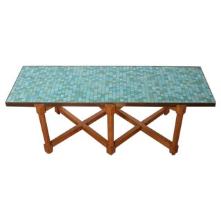 Murano Tile Table by Edward Wormley for Dunbar