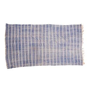 "Vintage Moroccan Kilim Carpet - 4'11"" x 9'1"""