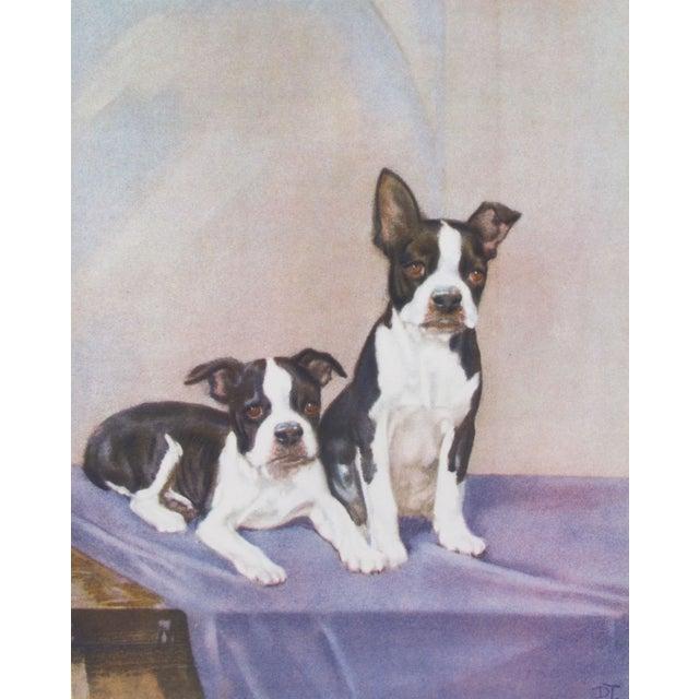 Vintage Diana Thorne Print - Bulldogs - Image 2 of 3
