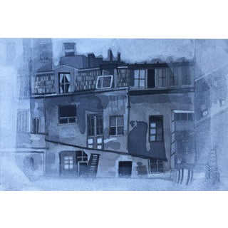 """Back Alley Paris"" Original Watercolor Painting"