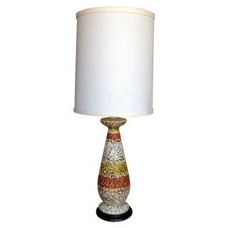 Aldo Londi Bitossi Pottery Lamp