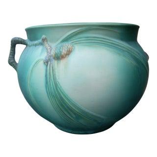 Roseville Pine Cone Jardiniere Vase