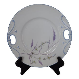 Elegant Floral Decorative Plate