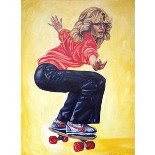"""""""Farrah"""", Oil Painting on Canvas"""