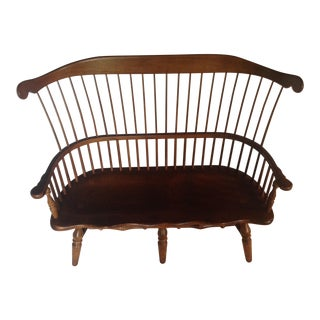 Stickley Child's Cherry Bench for Two