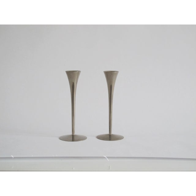 Image of Danish Modern Candleholders - A Pair