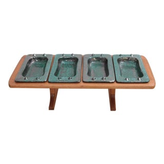 French Table Tray by Guillerme et Chambron & Boneslaw Danikowski, Serving Piece
