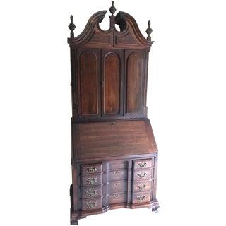 Maddox Blockfront Secretary Desk & Bookcase