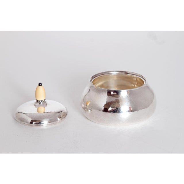Sterling Silver Coffee Set by Georg Jensen - Image 9 of 11
