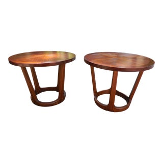 Lane Mid-Century Modern End Tables - A Pair
