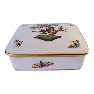 Herend Porcelain Box