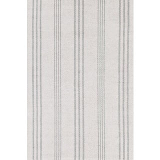 Striped Woven Cotton Rug - 4′ × 6′