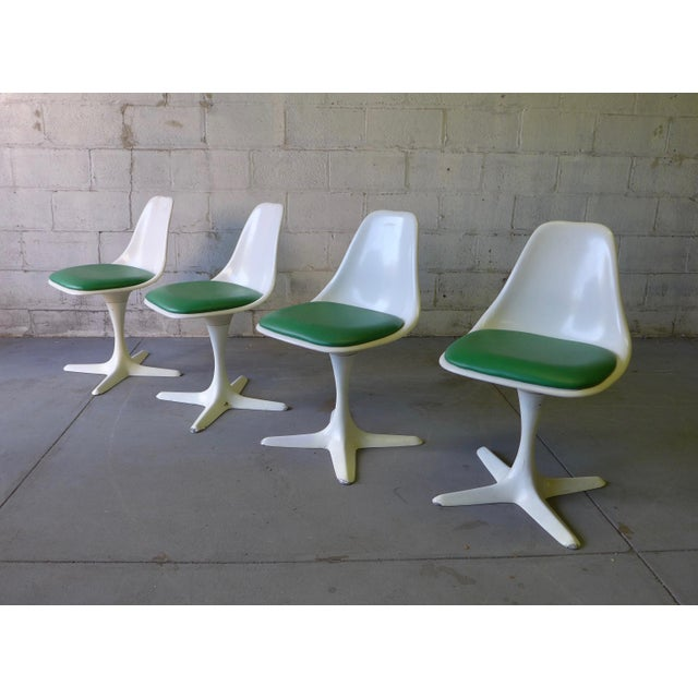 Mid Century ModernTulip Dining Chairs by Burke - Image 5 of 5