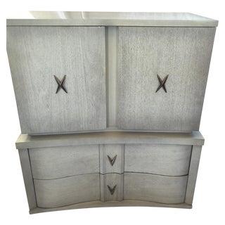 Unagusta 1950s Mid Century Tall Boy Dresser