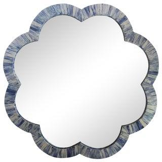 Indigo Bone Inlay Wall Mirror
