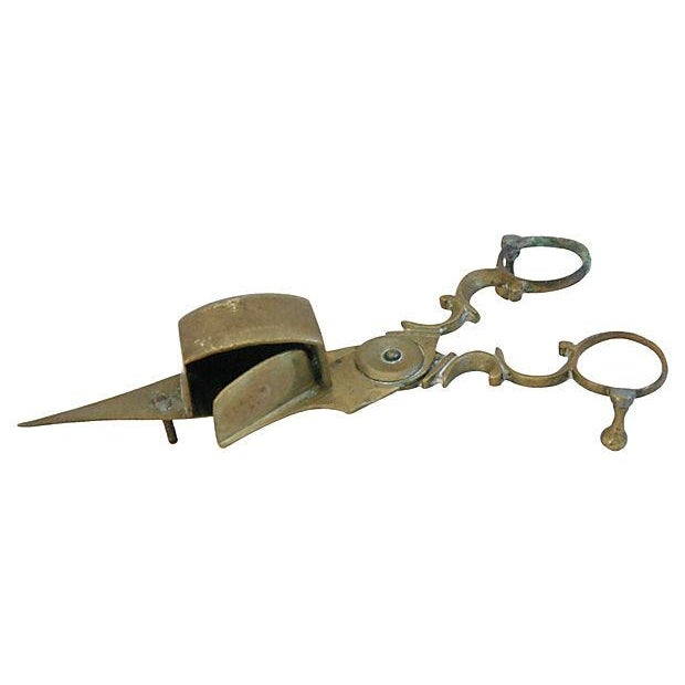 Image of Antique French Brass Candlewick Trimmers