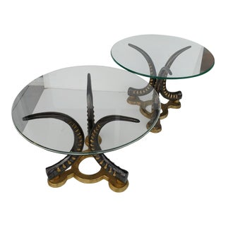 Vintage Mastercraft Side Tables - A Pair