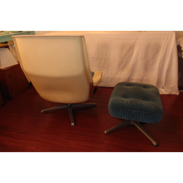 Molded Chair & Ottoman - Image 5 of 11