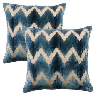 Lee Jofa Belgian Velvet Accent Pillows - A Pair