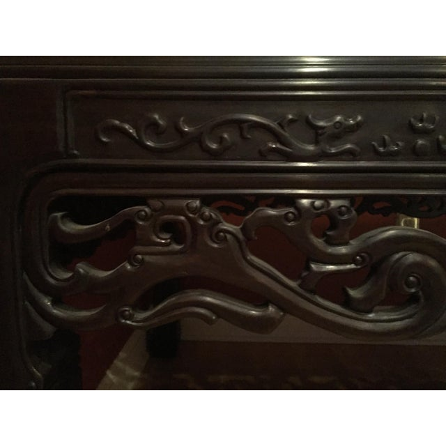 Chinese Rosewood Table - Image 7 of 8