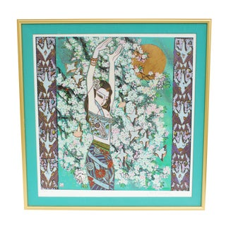 Tang Da-Kang Chinese Modernist Print