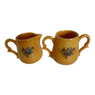 Beretta Italian Cream & Sugar Set - A Pair