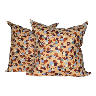 Missoni Home Monogram Cotton Down Pillows - a Pair
