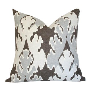 Bengal Bazaar Grey Pillow Cover