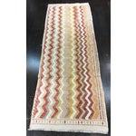 """Image of Vintage Turkish Hemp Weave Kilim Rug- 2'5"""" x 7'1"""""""