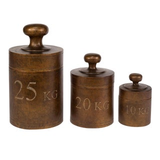 Sarreid Ltd Weight Form Jars - Set of 3