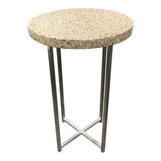Room & Board Quartz & Steel End Table