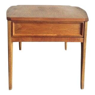 Mid-Century Modern American of Martinsville Walnut Side Table