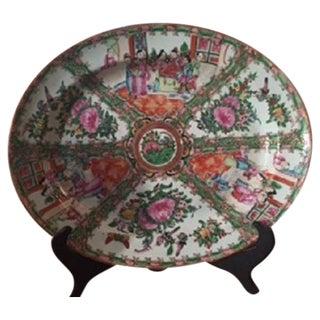 Vintage Rose Medallion Platter