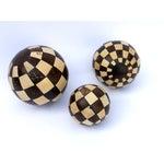 Image of Decorative Coconut Balls - Set of 3