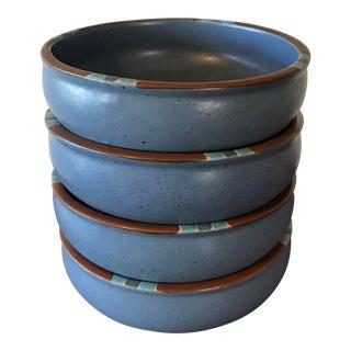 Dansk Mesa Blue Cereal Bowls - Set of 4