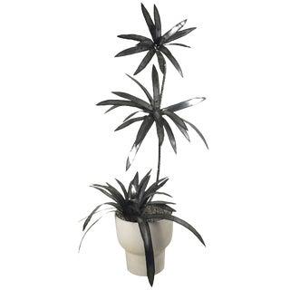 Torch-Cut Brutalist-Style Palm Tree, circa 1970s