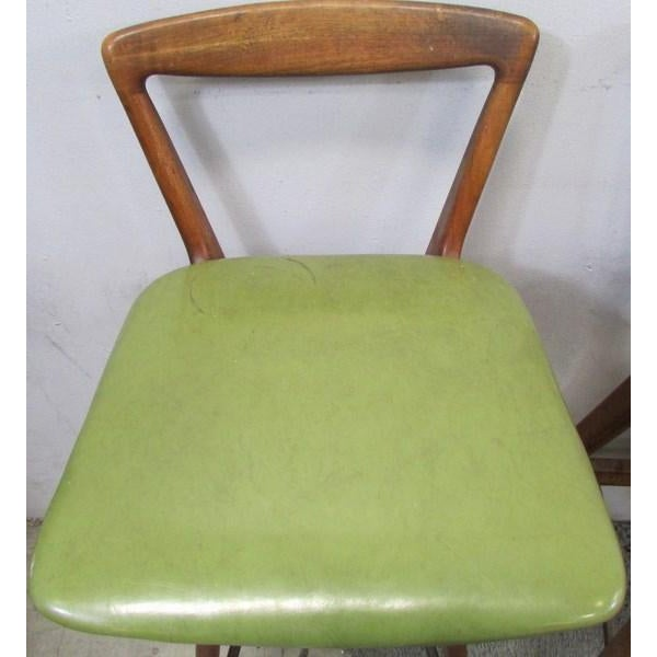 Vintage Mobel Gunstig ~ Vintage mobel industries teak bar stools set of chairish