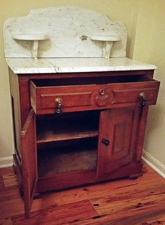 Eastlake Style Victorian Dry Sink   Image 4 Of 5
