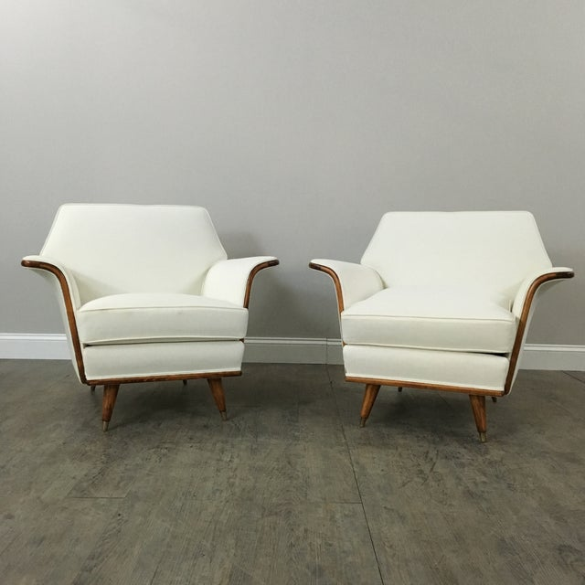 Art Deco Club Chairs - A Pair - Image 2 of 11
