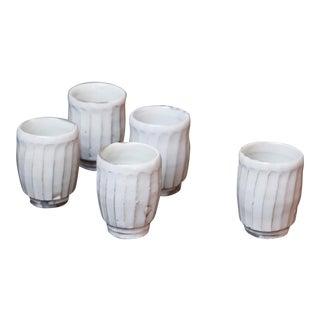 Set of Five Cups by Yoshimura Masaya