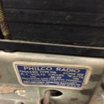 Image of Antique 1936 Philco High Fidelity Console Radio