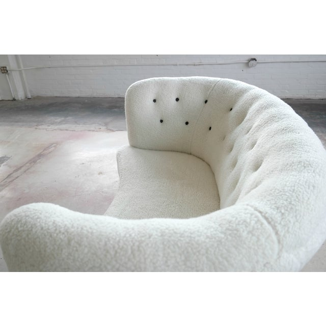 Vintage Slagelse Moebelvaerk Danish Loveseat - Image 6 of 8