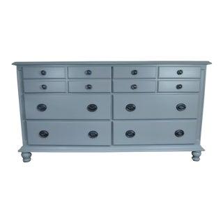 Dresser, Buffet, Sideboard, Nursery, Media Console, Gray Dresser, Industrial, Bedroom Dresser, Painted Furniture, Solid Wood, Vintage Dresser