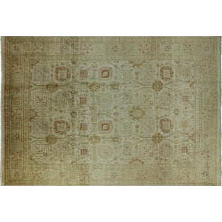 "Persian Washed Out Oriental Rug- 9' 9"" X 14' 1"""