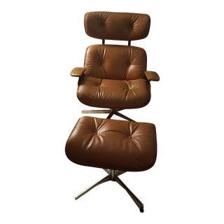 Plycraft Lounge Chair & Ottoman