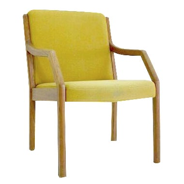 Danish Mid-Century Modern Arm Chair in Teak - Image 1 of 5