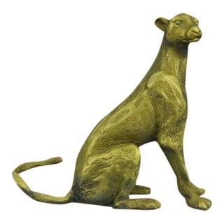 Animal Edition Mountain Lion Wildlife Bronze Sculpture