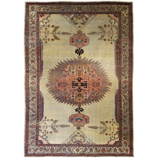 "Antique Persian Fereghan carpet 8' 9"" x 12'"