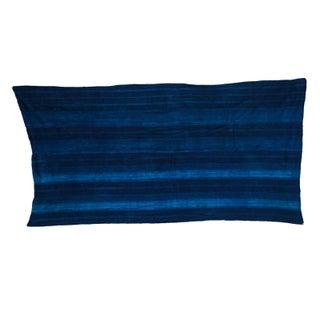 "Indigo Blue Striped Throw - 2'6"" X 5'1"""